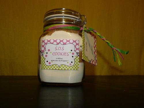 Cadeau maîtresse SOS cookies