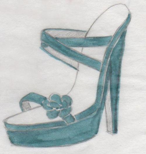 sandales, talons aiguilles, stilettos