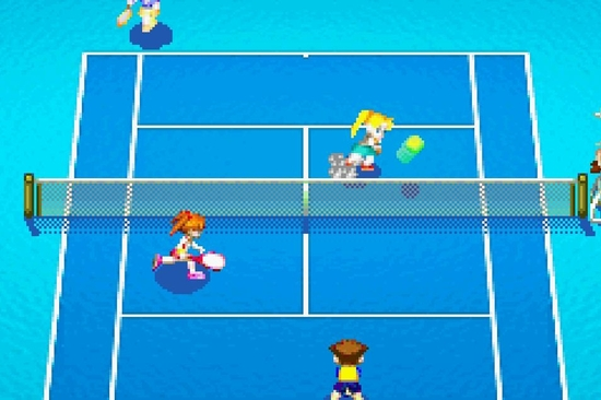 Mario Power Tennis ss