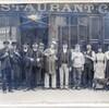 devant restaurant années 1910 ou 20