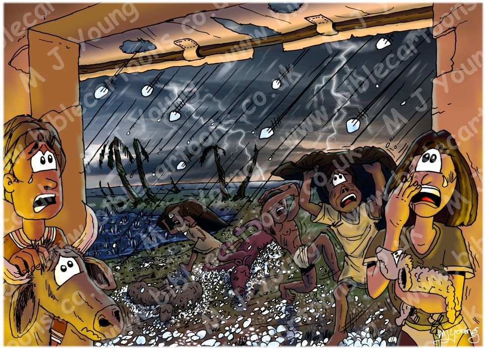 Exodus 09 - The ten plagues of Egypt - Plague of hail