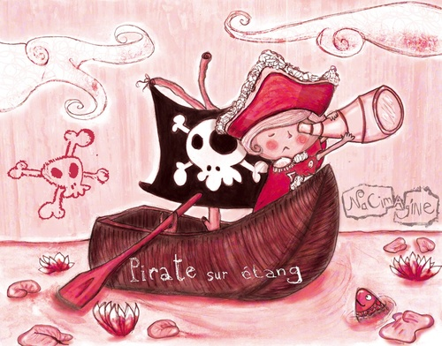 Pirate sur étang