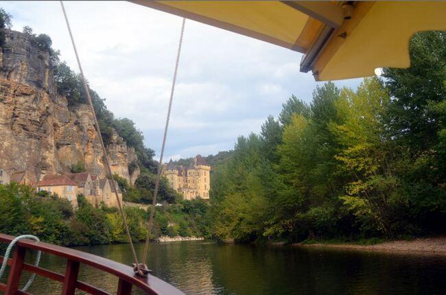 Vacances périgourdines : promenade en gabarre sur la Dordogne
