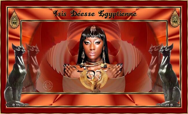 Isis déesse Égyptienne