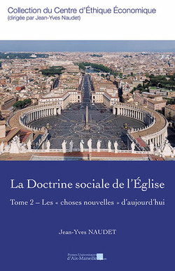 PUBLICATION DU TOME 2 DE DOCTRINE SOCIALE DE L'EGLISE