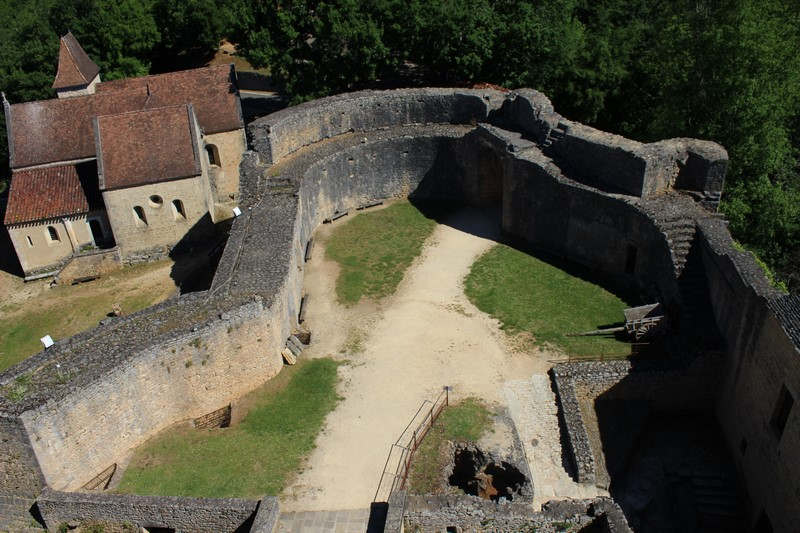 Du haut du Château de Bonaguil