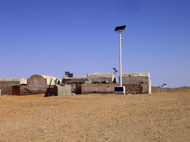 Maison avec plaque photovoltaïque