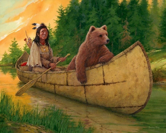 Brian day Cinnamon Bear