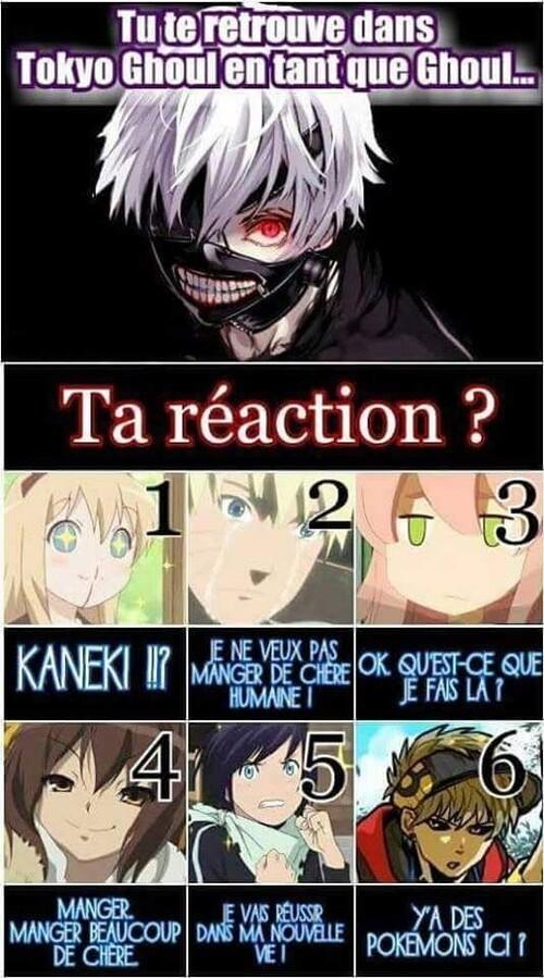 Ta réaction?
