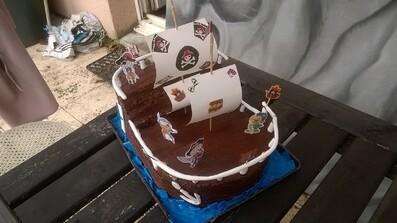Gâteau d'anniversaire suite