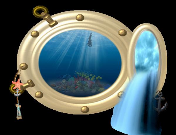 Tube fond marin