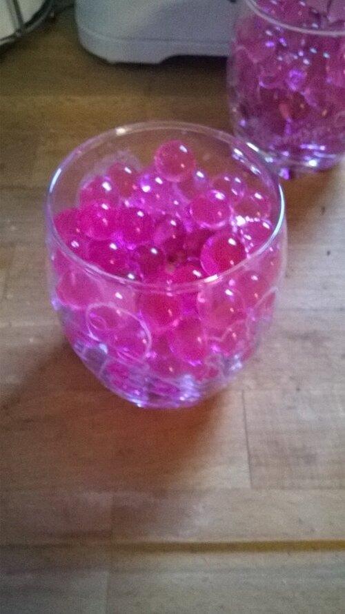 coupe champagne parrain/marraine et vases pour les mamies