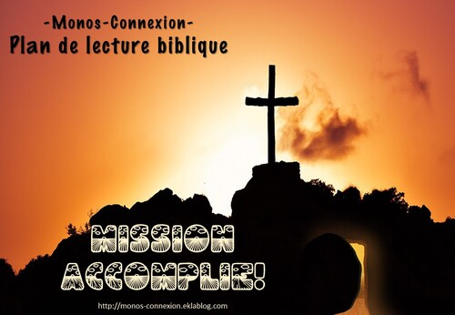 Calendrier Biblique - Mission Accomplie