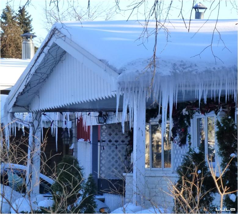 Stalagtites de glace