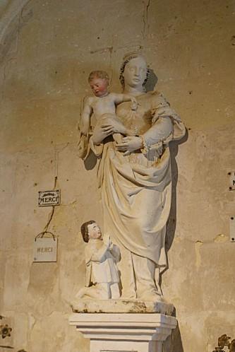 1-Vierge à l'enfant
