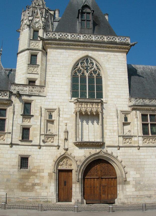 """Entrée """"côté Renaissance"""" de la maison de Jacques Coeur"""