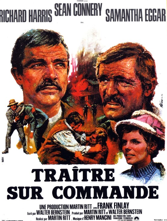 TRAITRE SUR COMMANDE - BOX OFFICE SEAN CONNERY 1970