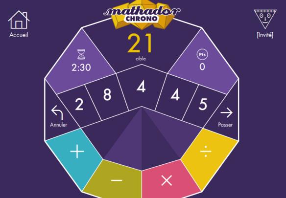 """Concours """" Mathador"""""""