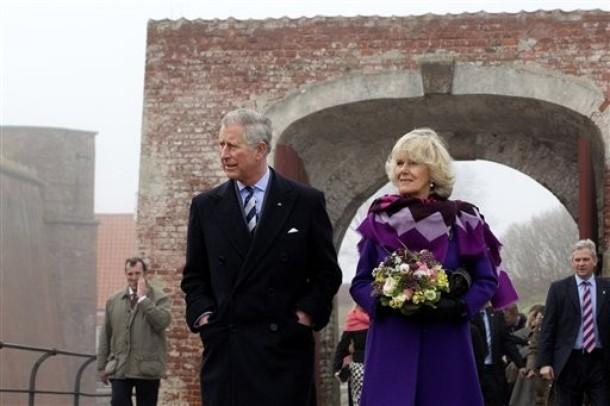 Charles et Camilla dans le vieux Copenhague.
