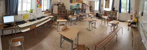 Aménager sa classe pour le retour à l'école
