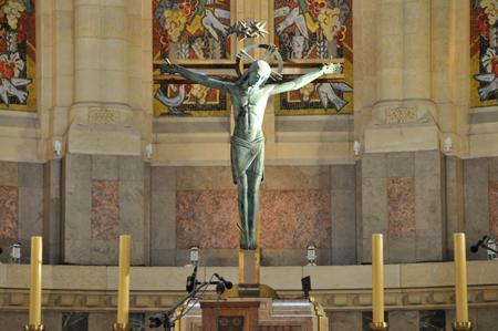 Lisieux : La basilique Sainte Thérèse
