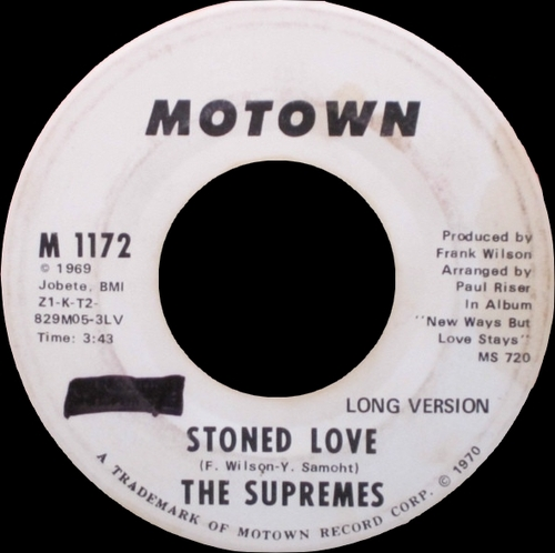 """The Supremes : Album """" New Ways But Love Stays """" Motown Records MS 720 [ US ]"""