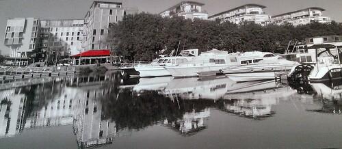 Bords de l'Erdre au Canal St Félix.