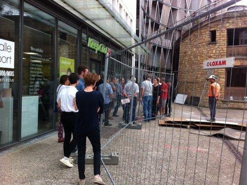 Nancy : l'ancien magasin de fleurs Christophe provisoirement sauvé