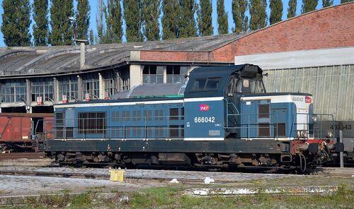BB 666042 SNCF.