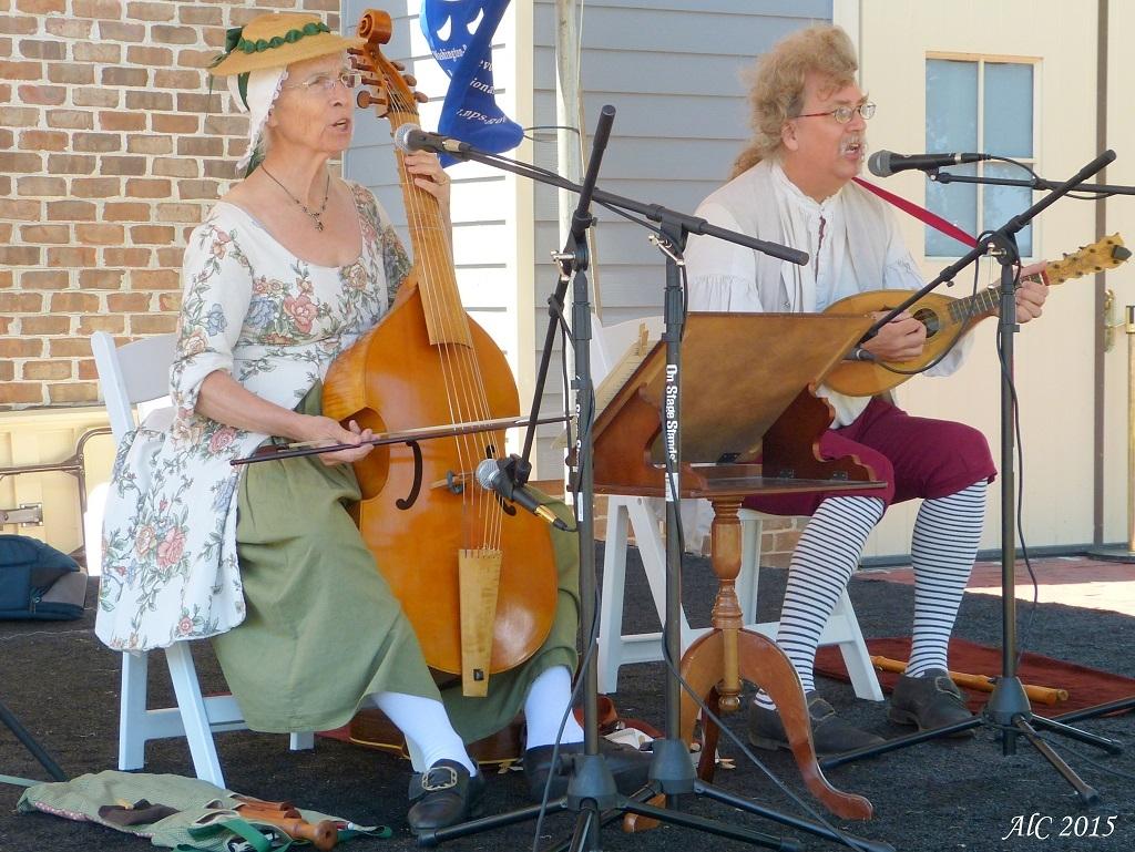 Musique des Nouveaux Américains à Yorktown