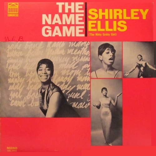 "Shirley Ellis : Album "" The Name Game "" Congress Records CGS-3003 [ US ]"