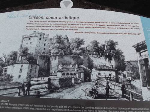 Une excursion à Clisson (1ère partie)