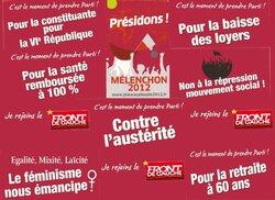 Mélenchon, front de gauche et les petites entreprises (TPE, PME) : quelques propositions !