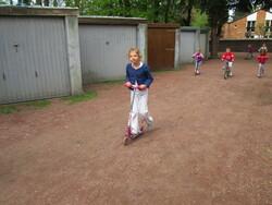 Trottinettes et vélos