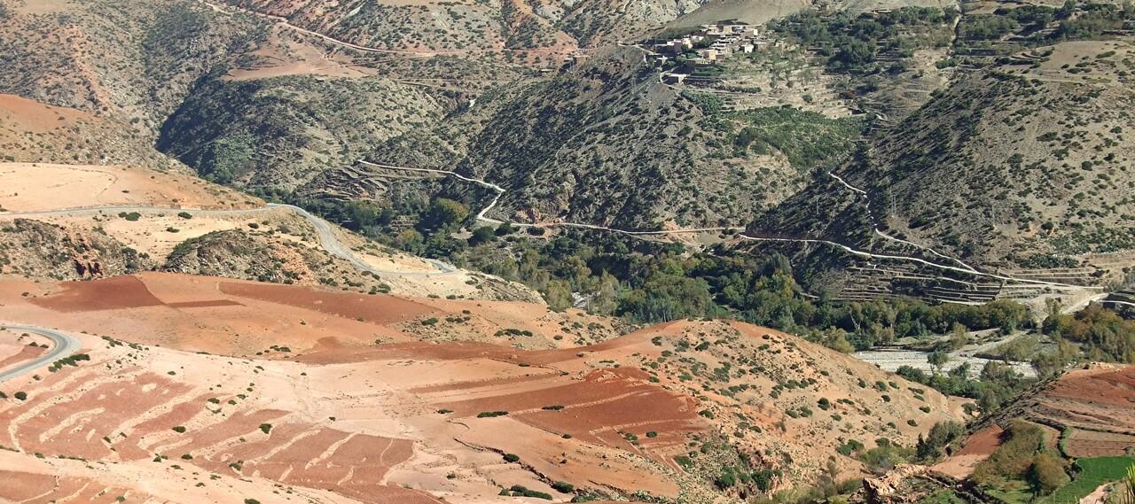 Maroc 4 / paysages dans le haut atlas (3)