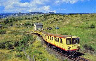 Le train jaune - Mairie-Corneilla-de-Conflent
