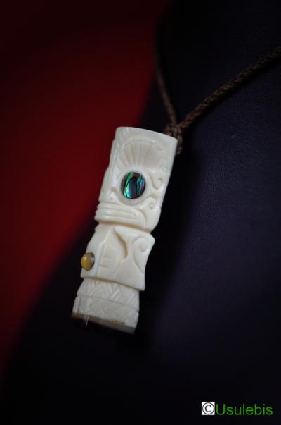 Blog de usulebis :Usulebis ,Artisan créateur de bijoux polynésiens , contact : usulebis@hotmail.fr, Pendentif Tiki ( modèle personnalisé)