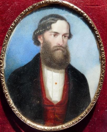 Le portrait d'Antoine de Tounens change de mains