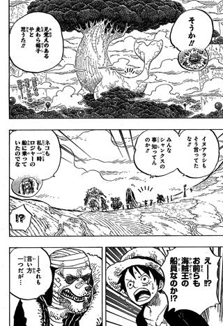 One Piece Spoils du chapitre 820