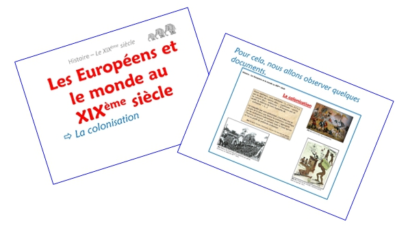 Les Européens et le monde au XIXème siècle (diaporamas)