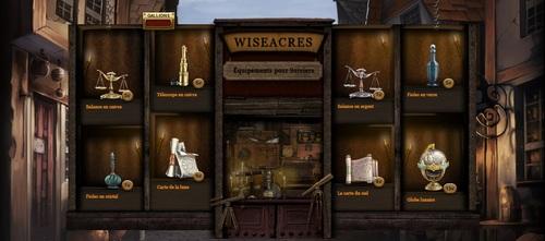 Wiseacres, Equipement pour sorciers