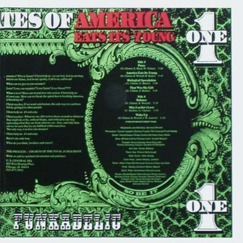 "Funkadelic : Album "" America Eats Its Young "" Westbound Records 2WB 2020 [ US ]"