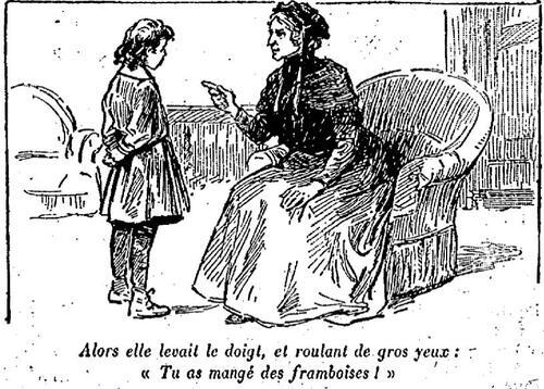 Les framboises de tante Thérèse