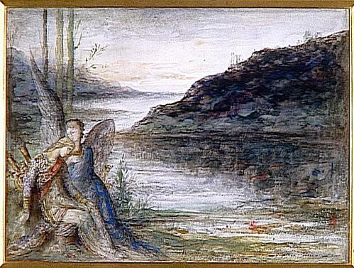 Gustave Moreau - le soir et la douleur