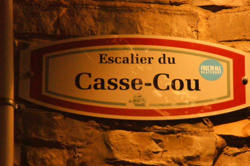 Québec  le Voyage tire à sa fin....