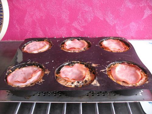 Millefeuilles de bacon et légumes