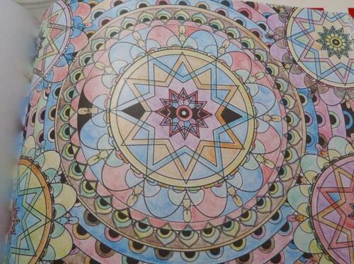 mandala et forme et geometrique