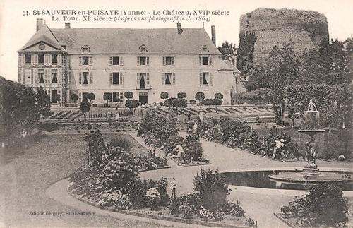Famille Geuril, Saint-Sauveur-en-Puisaye