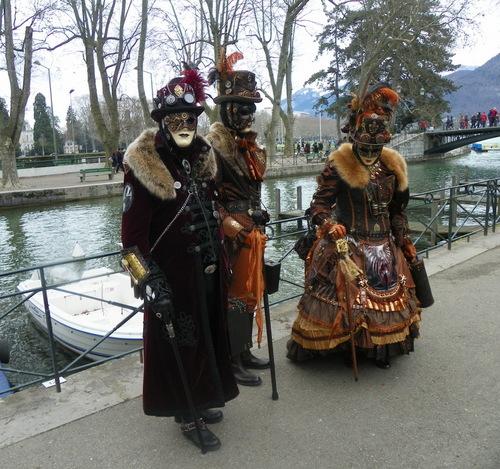 Carnaval vénitien à Annecy 2016