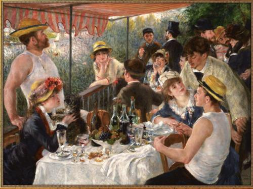 Tableau Auguste Renoir : Le déjeuner des canotiers
